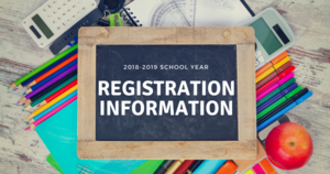 2018-2019 School Registration