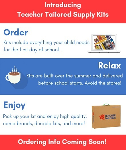 PTO Student Supply Kits for Next School Year