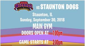 Harlem Wizards vs. Staunton Dogs