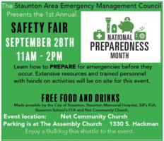 Safety Fair - Sept. 28th