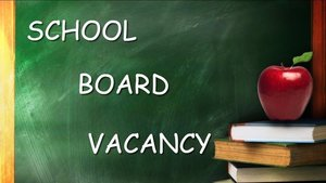 Board of Education Vacancy Announcement