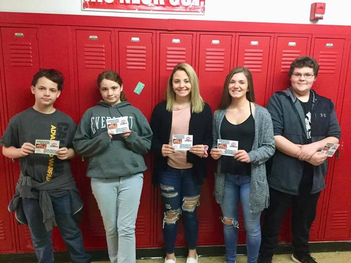 November Perfect Attendance Winners
